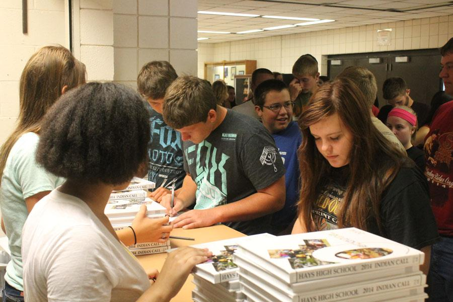 Yearbook class keeps students busy
