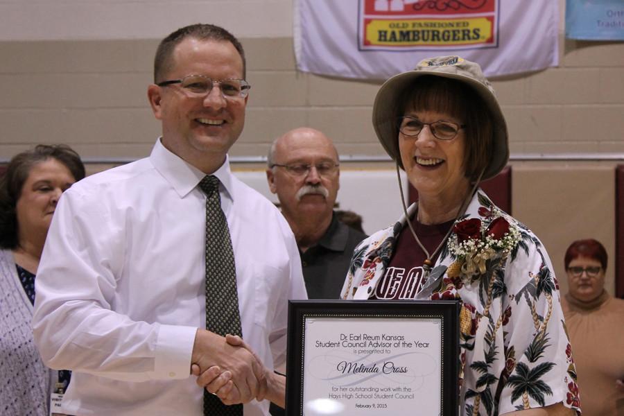 Cross receives prestigious award