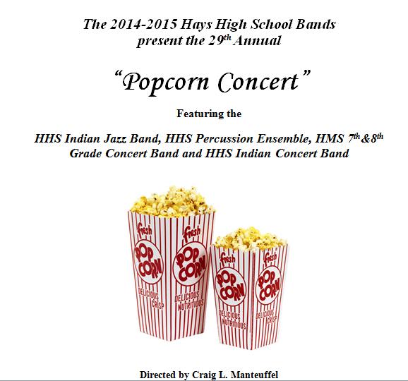 Popcorn concert arrives in upcoming days