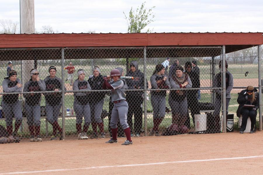 The Lady Indians, now 1-7, played against Dodge City on April 9.