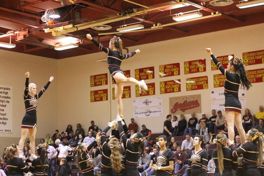 Cheerleading tryouts held this week