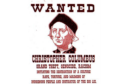 Columbus should not be honored