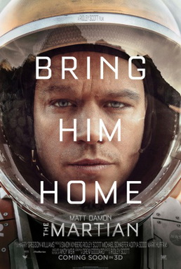 """The Martian"" movie review"
