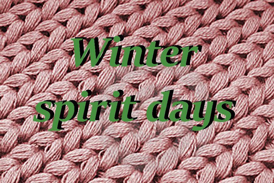 Winter spirit days announced