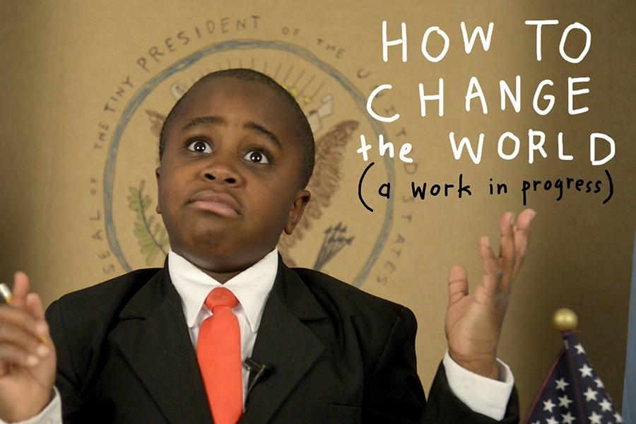 Kid+President+gives+presentation