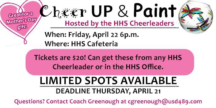 Cheerleader fundraiser to be held Friday