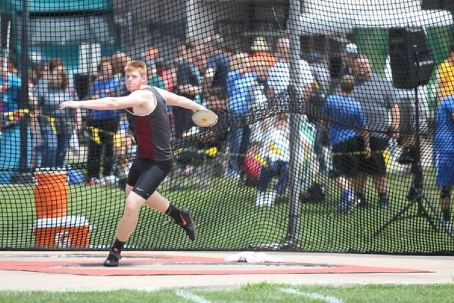 Senior travels to Australia for track and field competition