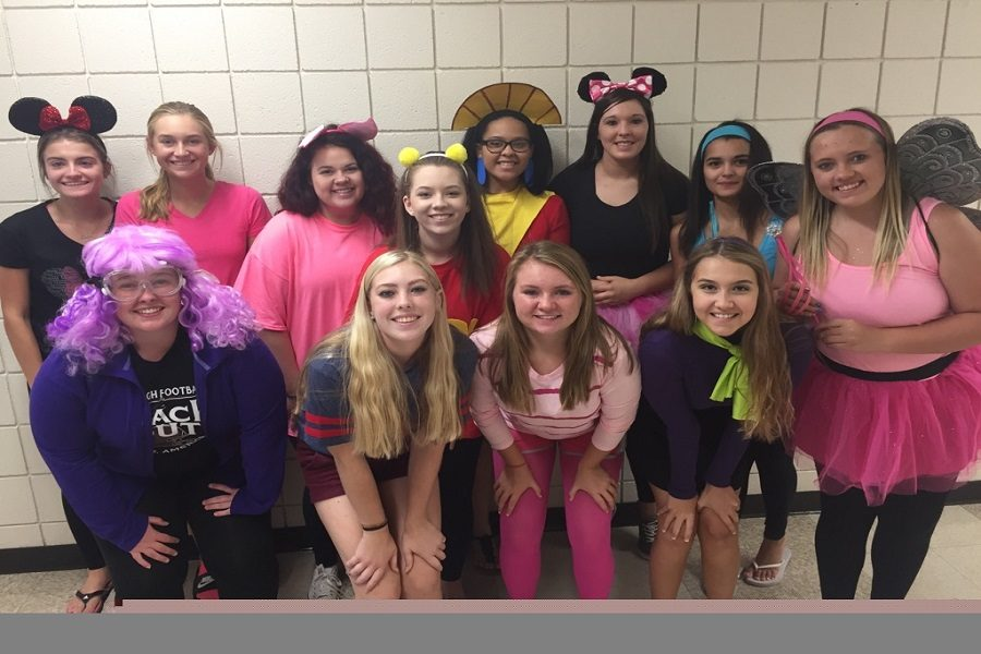 Cartoon Character Spirit Day Encourages Funny Costumes
