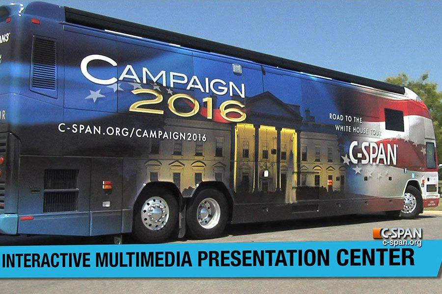 C-SPAN bus to make trip in name of education