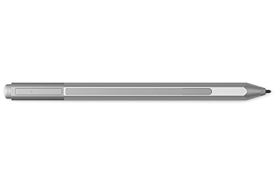 The new surface pen showing the one long button.