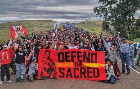 Students discuss the Dakota Access Pipeline