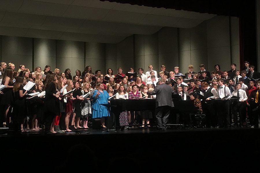 The 2016 KMEA Honor Choir.