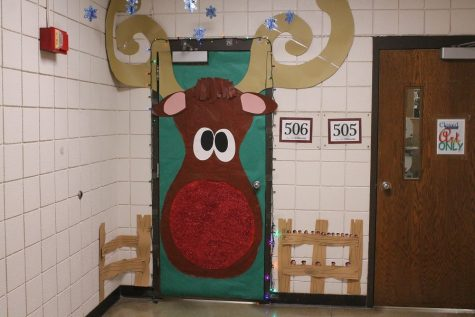 StuCo door decorating contest