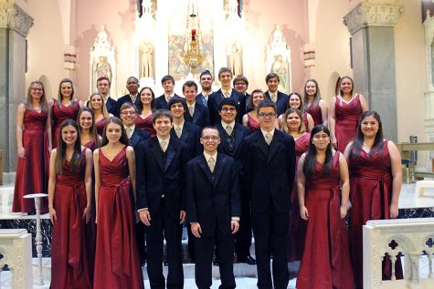 Chamber Singers perform at Cathedral Concert in Victoria