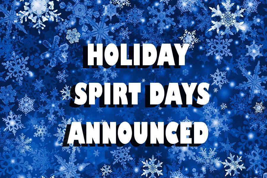 Spirit dress up days announced