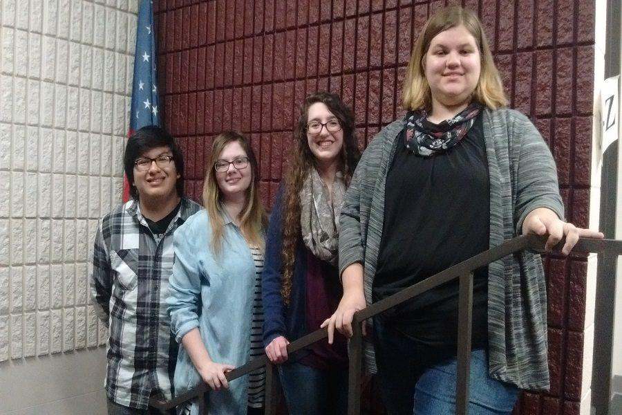Senior places first at Poetry Out Loud Competition