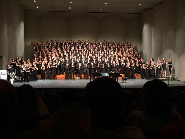 KMEA All-State Choir performing.