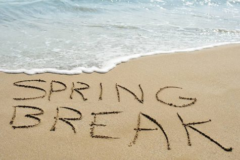 Spring break is a well deserved break for students