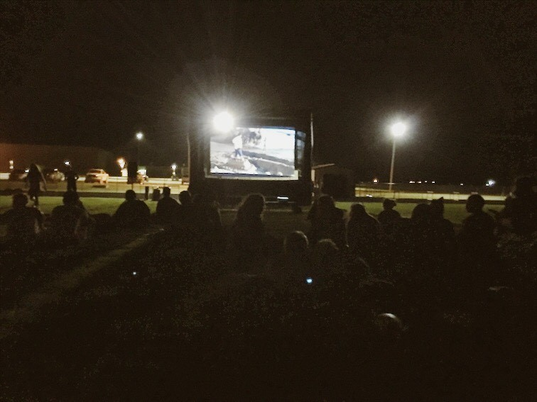 The Maroon and Gold drive-in took place on Aug. 25.