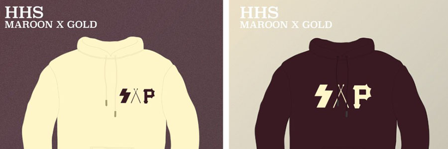 S.A.P. offers Maroon & Gold hoodies