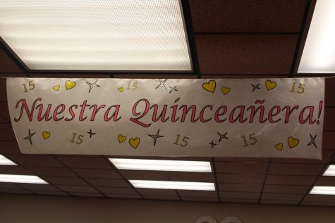 Spanish II classes participate in Quinceañera