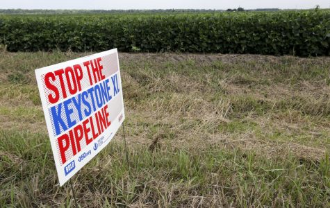 Students voice opinions on Keystone pipeline oil spill
