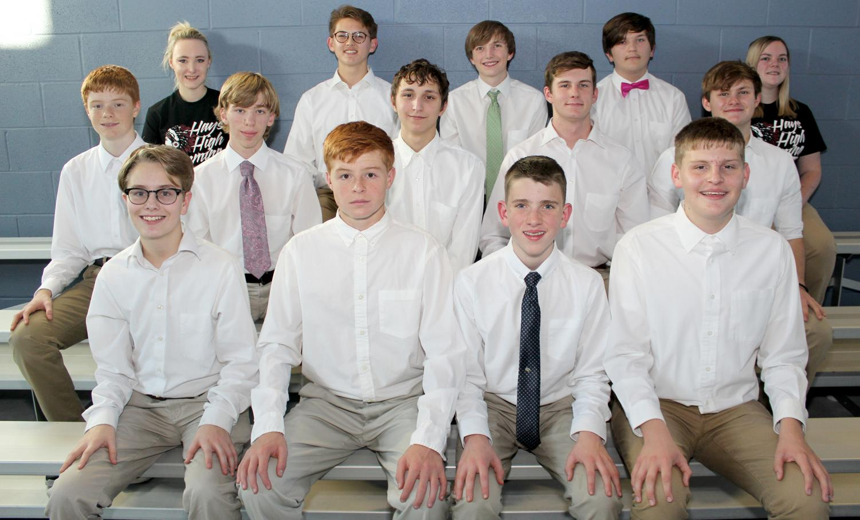 2017 - 18 Boys Swim team