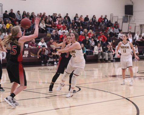 Lady Indians pull off victory at home against Abilene Cowgirls