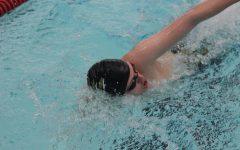 Swim team places fifth at final Salina meet
