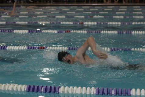 Swim team places ninth at Manhattan