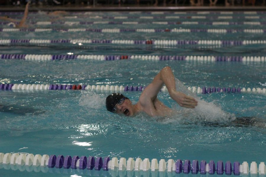 Blade+Goering+swimming+his+200+yd+freestyle+event