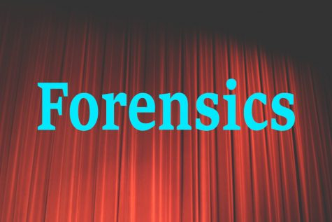 Forensics team takes fourth place honorable mention at Great Bend meet