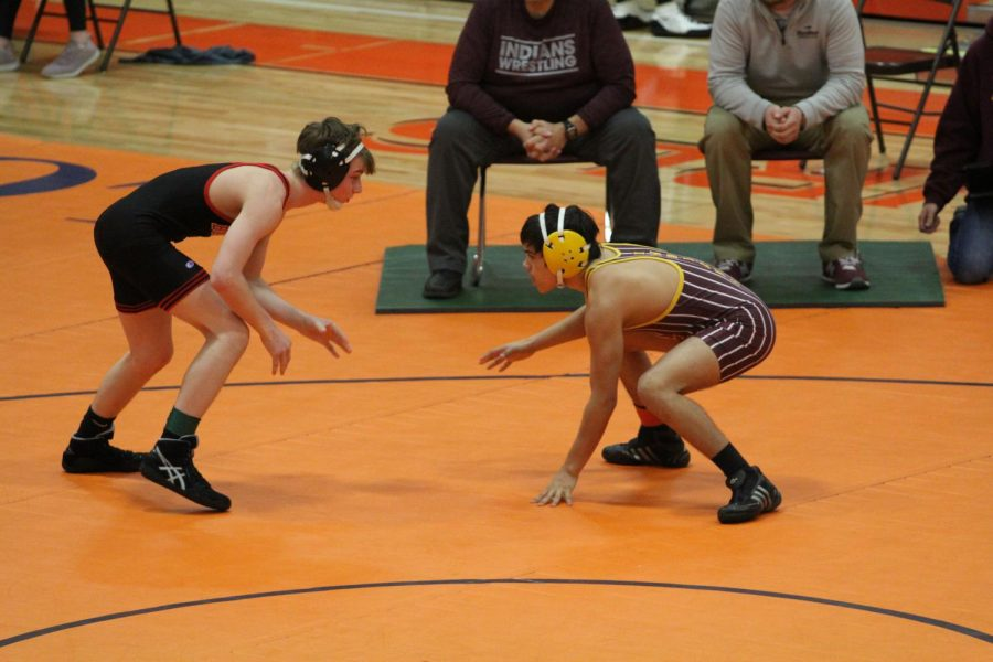 Sophomore+Jordan+Zimmerman+wrestles+at+Abilene+for+Regionals.+He+is+one+of+the+state+qualifiers.