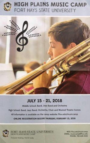 Fort Hays State University hosts High Plains Music Camp