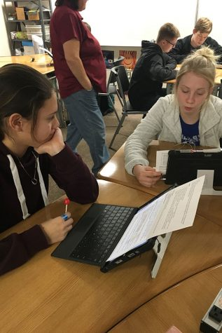 Student led conferences allow opportunity for students to inform parents of future plans