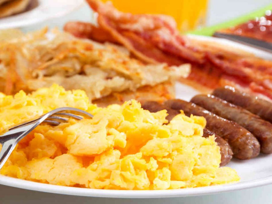 Breakfast can help students focus in class and not be hungry throughout the day.
