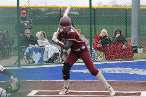 Indian softball splits at Andover Tri on March 27