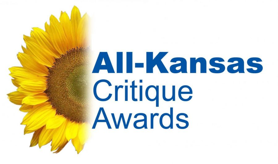 Both the print and online editions of the Guidon were awarded with All-Kansas honors for the 2017-18 school year.