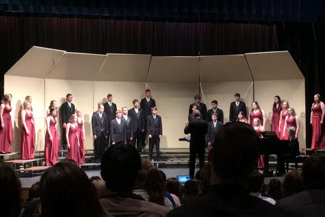 Music sweeps state Large Group contest with 12 one ratings