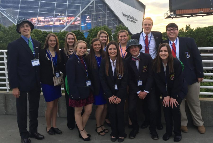 DECA members attended the International Career Development Conference in Atlanta from April 21-25. The event gave them opportunities to converse with colleges as well as other high schoolers who had similar interests as themselves.