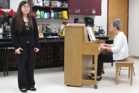 Students compete at state music competition