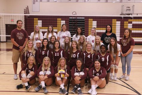 Current volleyball roster for 2018