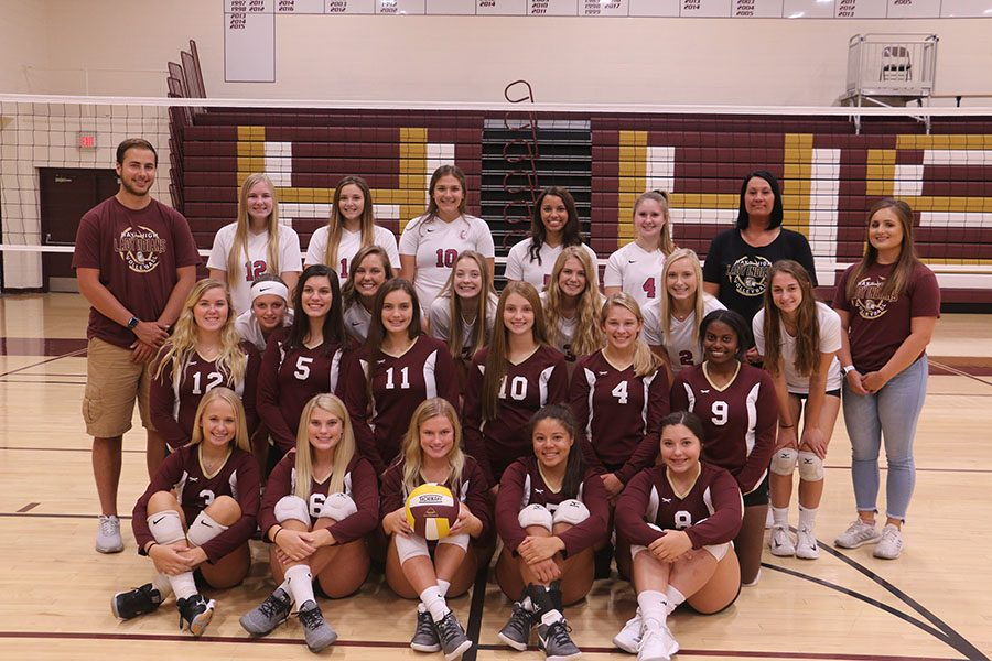 Current Indian Volleyball team for the 2018 season