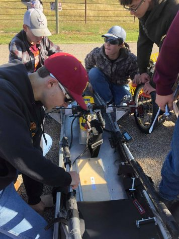 HHITA competes at High Plains Electro Rally on September 27