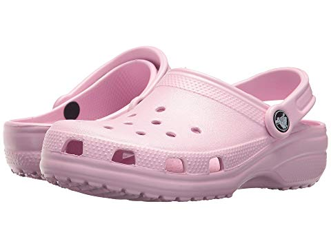 Crocs have started making a comeback, and several students wear them daily.