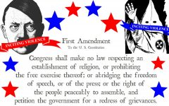 Hate speech not protected by First Amendment