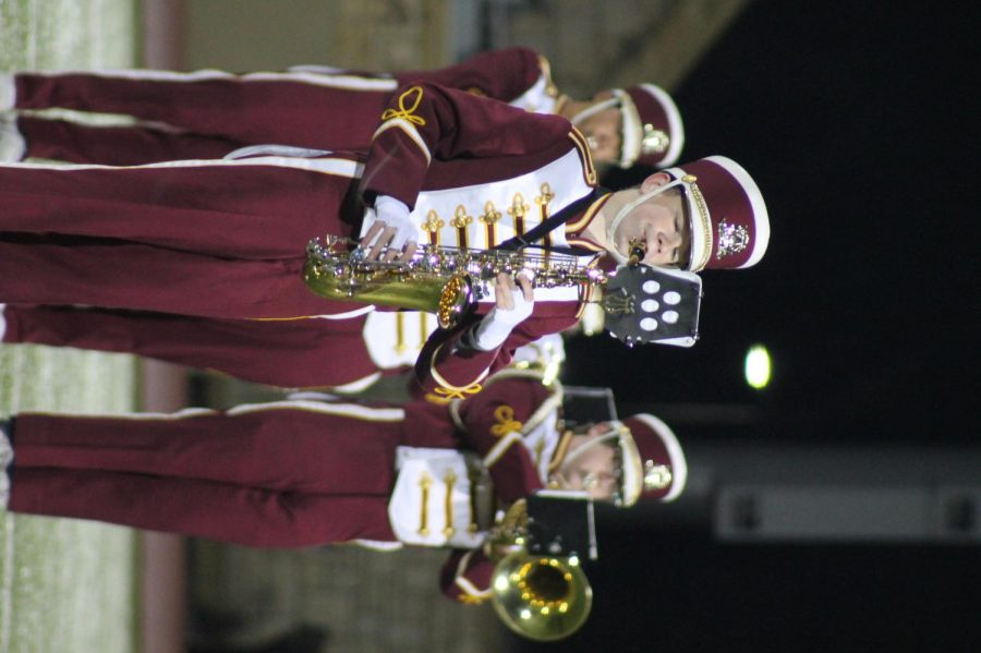 The band received straight ones in all categories at High Plains Marching Festival.