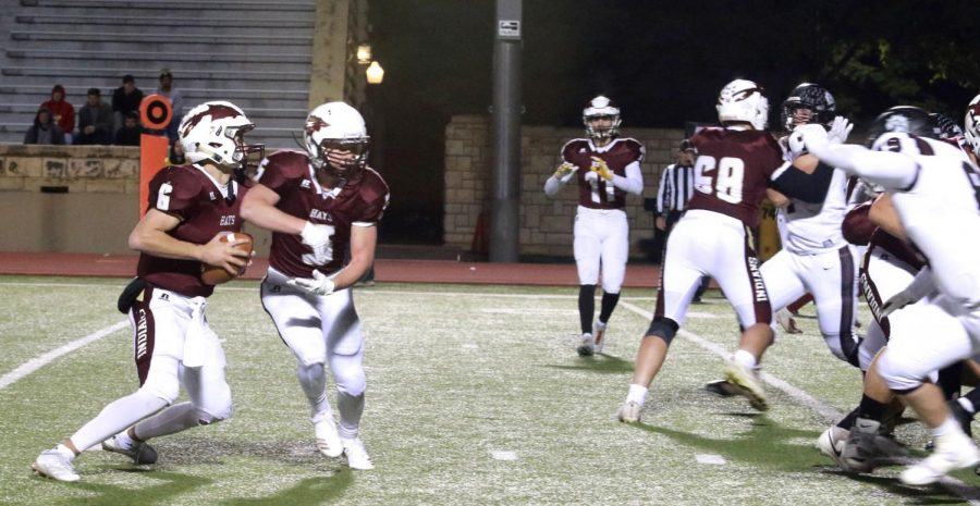 The Indians defeated Buhler at home on their senior night 41-14.