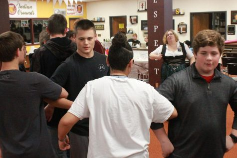 German I, II classes participate in 'Oktoberfest'