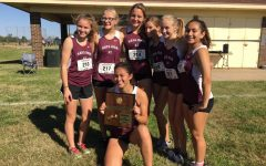Cross country girls, regional champs